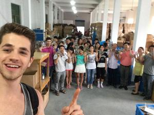 cina selfie