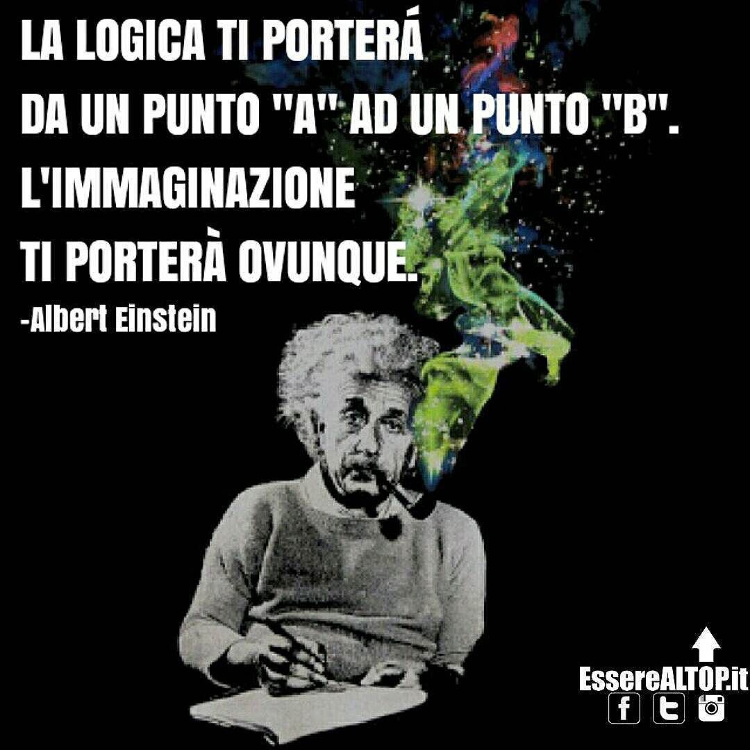L'IMMAGINAZIONE È LA MIGLIORE STRADA PER RISOLVERE QUALUNQUE PROBLEMA. www.EssereALTOP.it
