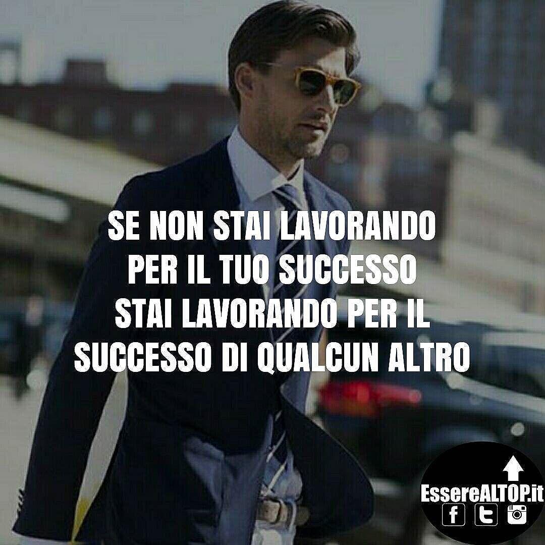 Poniti degli obiettivi, studia, lavora duro e soprattutto...NON MOLLARE MAI! ??www.EssereALTOP.it?? #Motivazione #ispirazione #successo #business