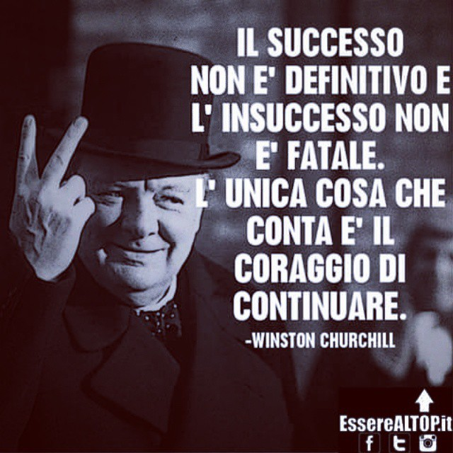 ...L' insuccesso non è fatale, l' UNICA COSA CHE CONTA È IL CORAGGIO DI ANDARE AVANTI. www.EssereALTOP.it #TOP #BUSINESS #SUCCESSO #SUCCESS #MOTIVAZIONE #STARTUP #GUADAGNARE #MakeMONEY #CrescitaPersonale #ITALY #IMPRESA #IMPRENDITORIA #ENTREPRENEURSHIP #MONEY #RICH #LUXURY #marketing #management #instarich #capital #frase #quotes #quoteoftheday #lifeSTYLE #company #amazing #determination #MILLIONAIRE #BILLIONAIRE