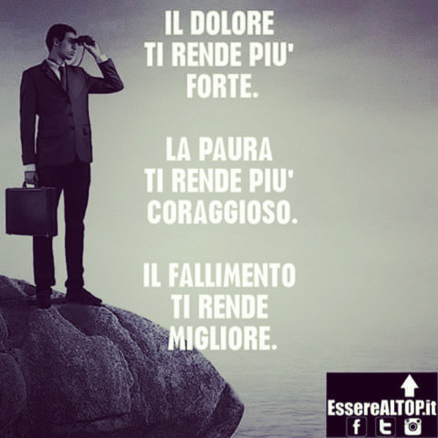Gli EVENTI NEGATIVI ci PLASMANO e ci rendono MIGLIORI. www.EssereALTOP.it #TOP #BUSINESS #SUCCESSO #SUCCESS #MOTIVAZIONE #STARTUP #GUADAGNARE #MakeMONEY #CrescitaPersonale #ITALY #IMPRESA #IMPRENDITORIA #ENTREPRENEURSHIP #MONEY #RICH #LUXURY #marketing #management #instarich #capital #frase #quotes #quoteoftheday #lifeSTYLE #company #amazing #determination #MILLIONAIRE #BILLIONAIRE