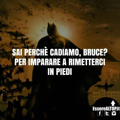 immagine motivazionale Batman